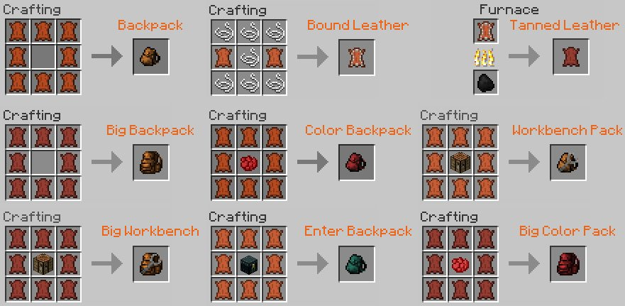 Minecraft One Click Crafting