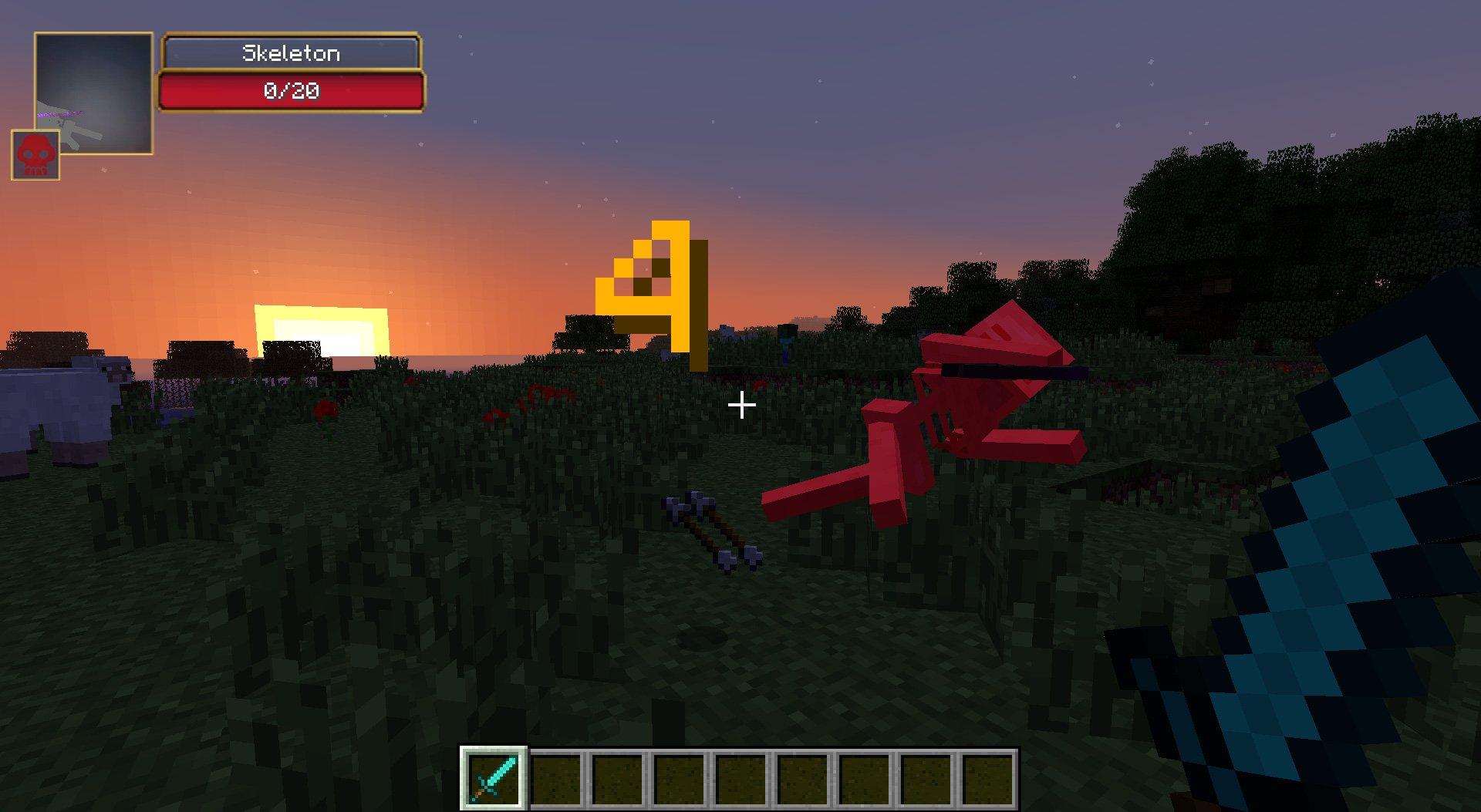 Damage Indicators Minecraft Mods - Skin para minecraft 1 8 multiplayer