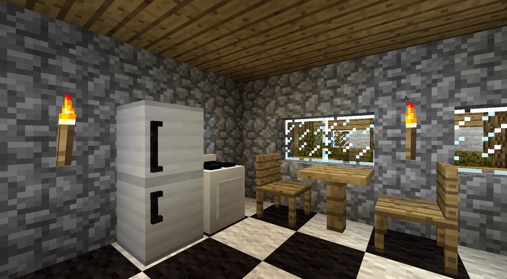 Furniture mod minecraft mods for Cool furniture ideas