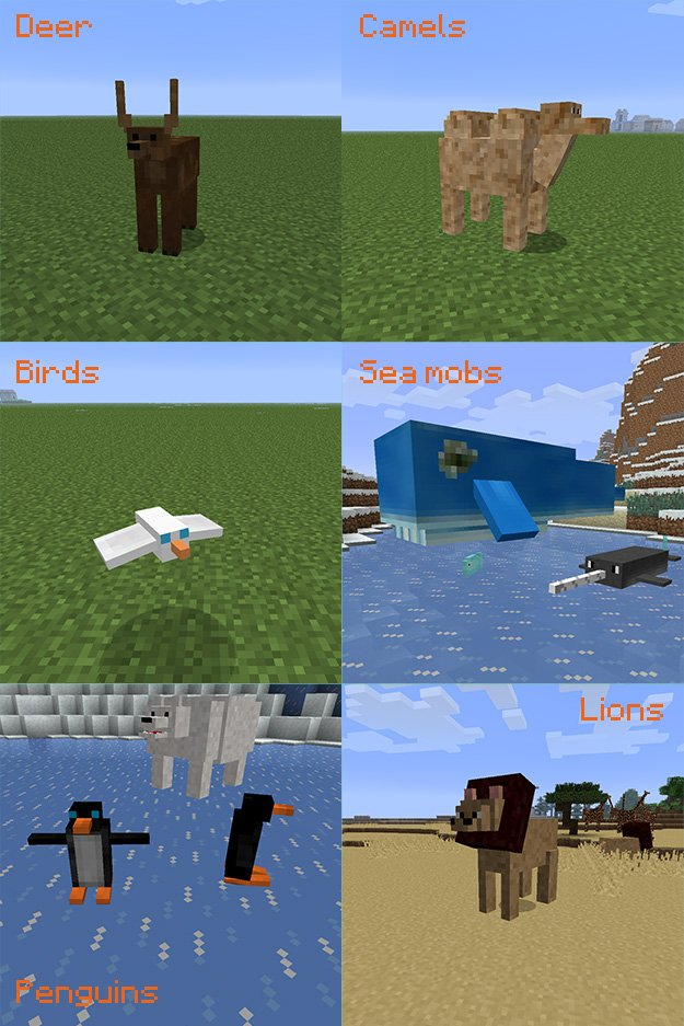 Minecraft Lots Of Mobs Mod 1.6 4 Download - paiccharg