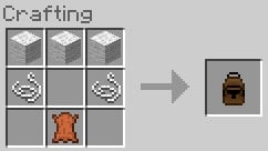 uses for leather in minecraft