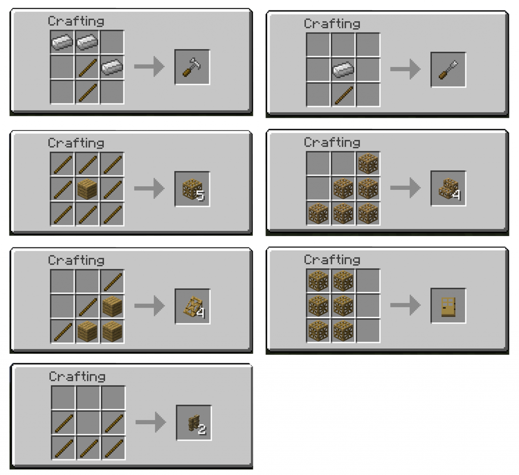 Carpenters Blocks Minecraft Mods