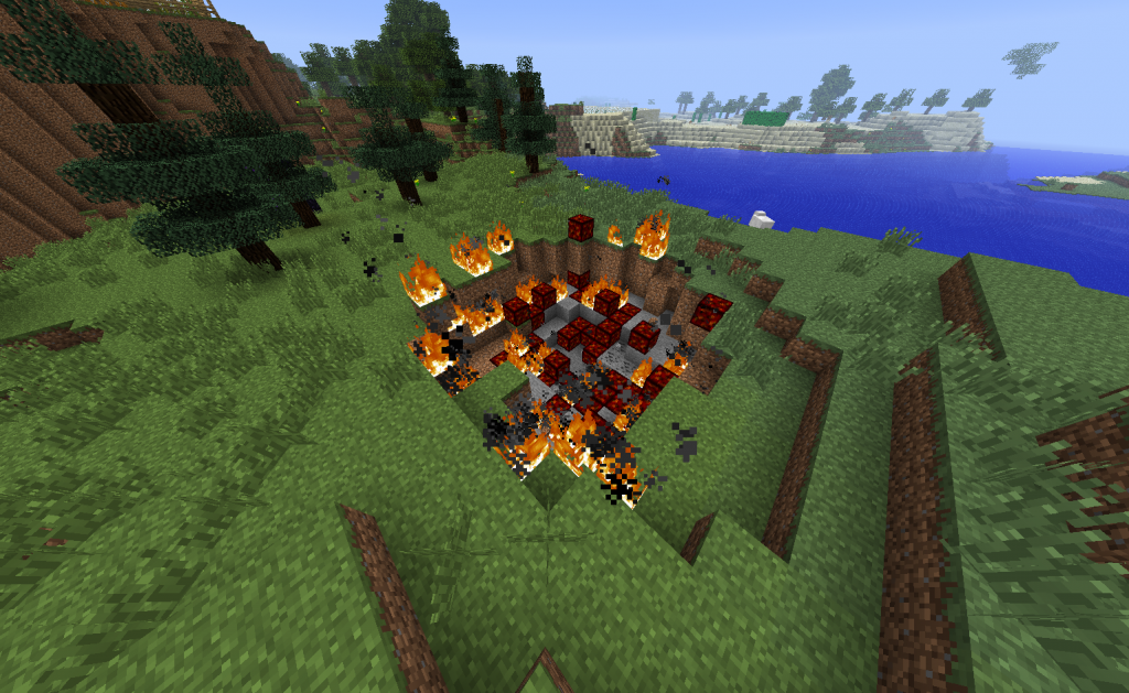 Falling Meteors Minecraft Mods
