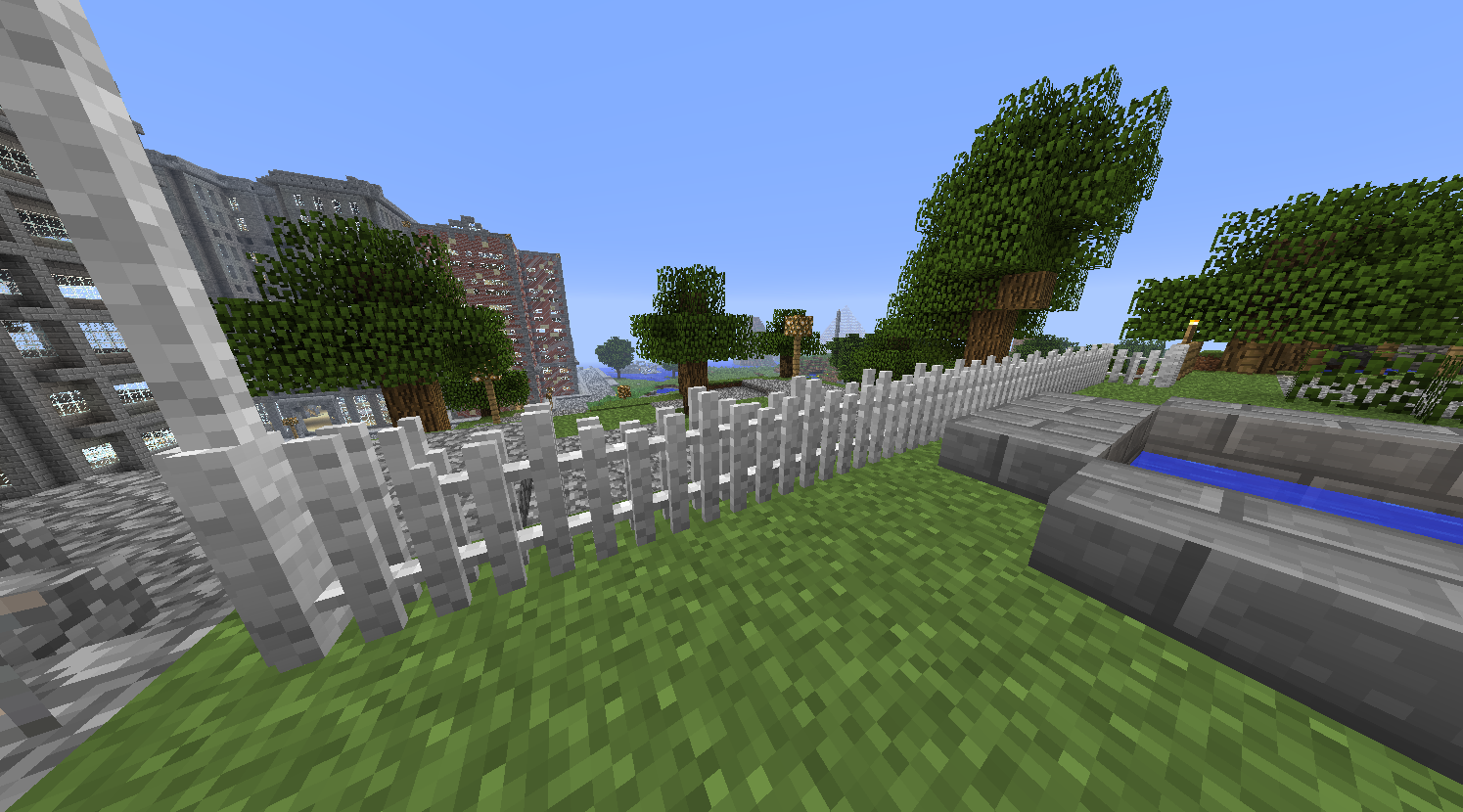 fence minecraft. Picket Fences Fence Minecraft