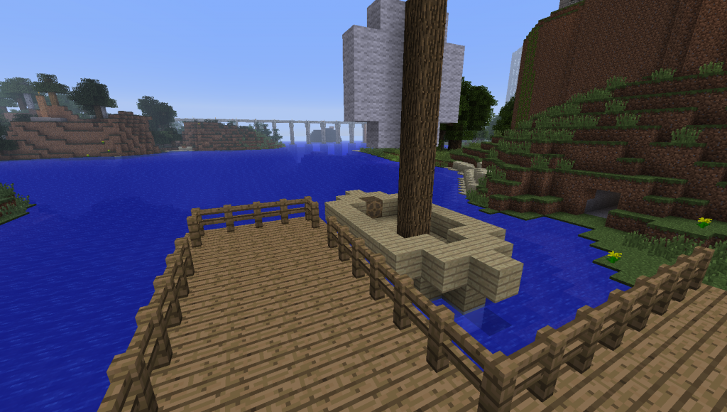 how to make a boat that moves in minecraft pe