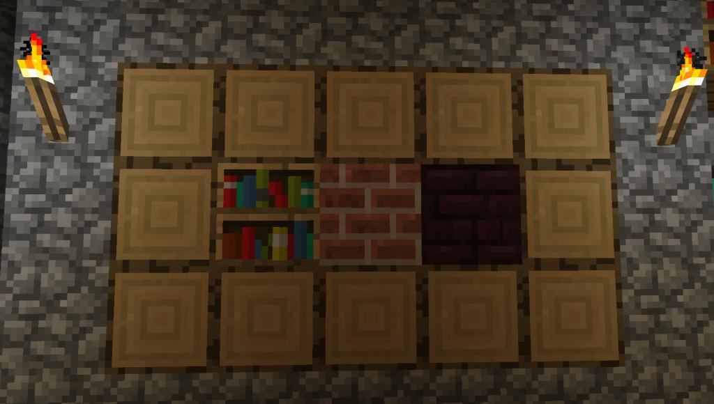 how to close trap door minecraft