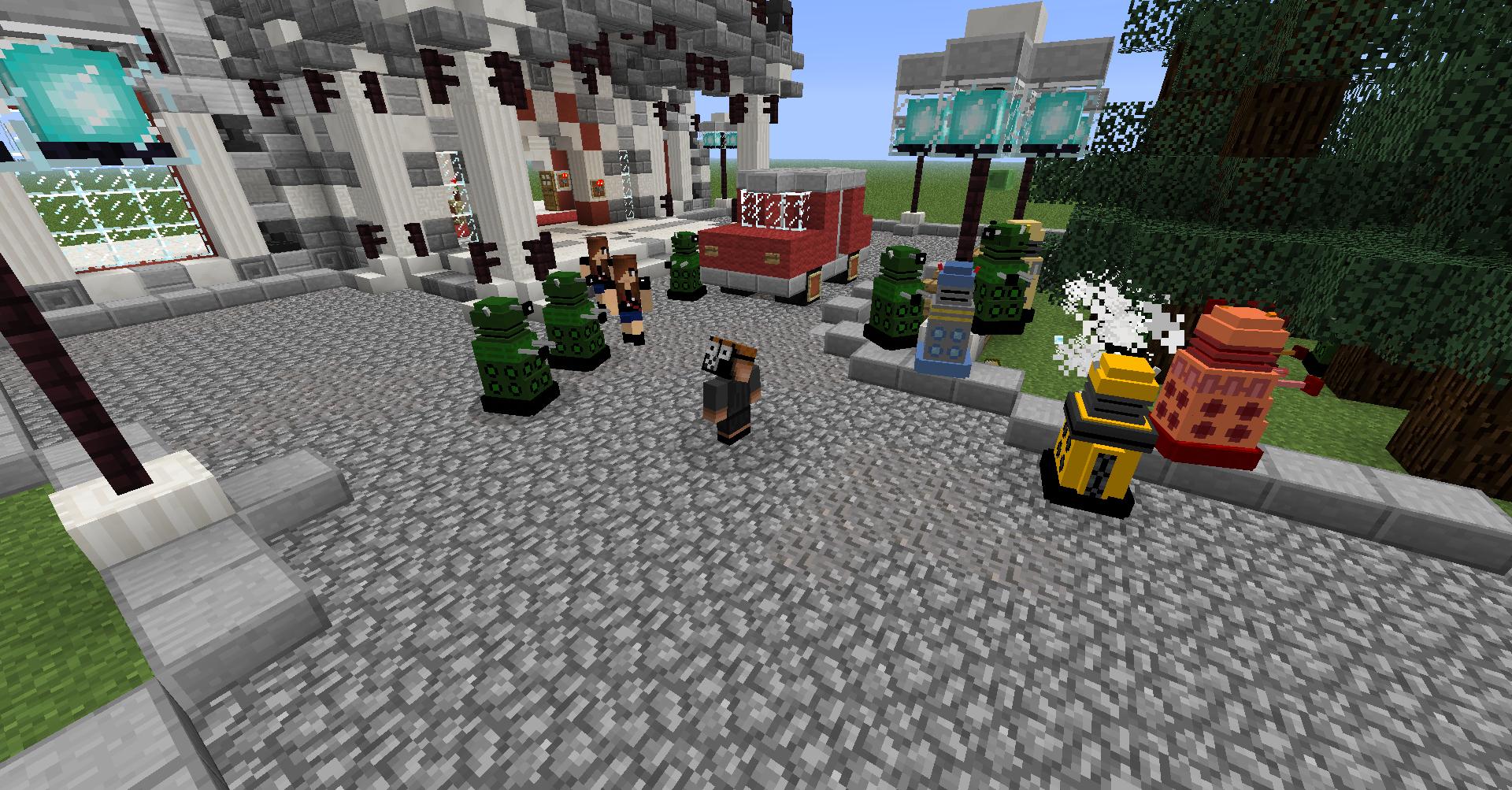 Dalek Mod (1.8)   Minecraft Mods