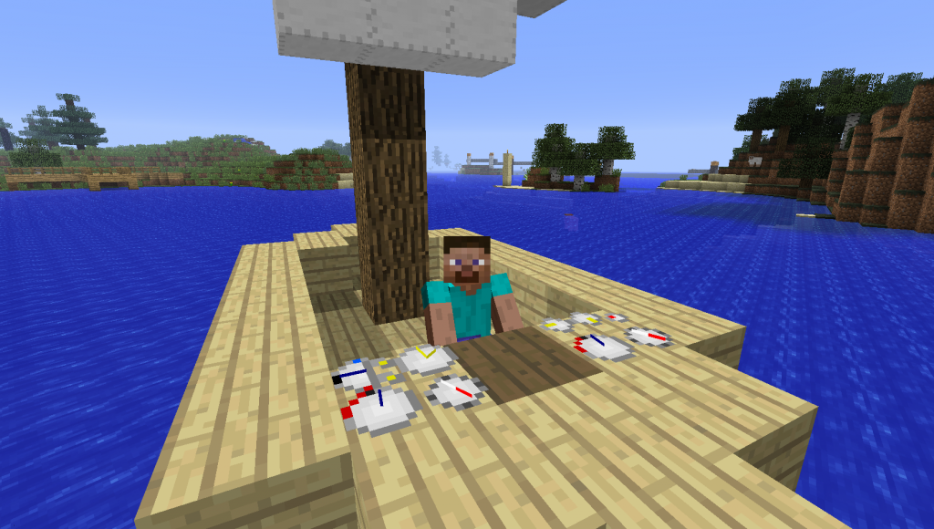 How To Craft A Ship Marker In Minecraft