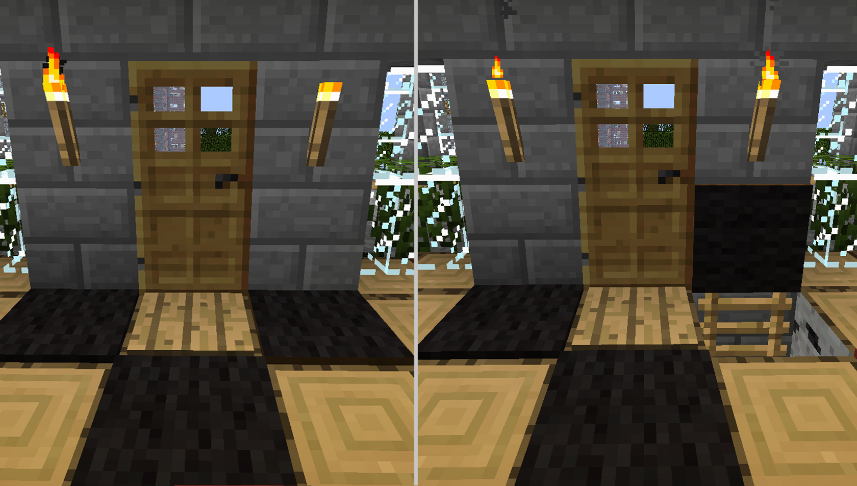 How To Make A Secret Passage In Mine Craft