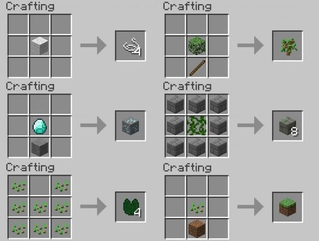 More Crafting Recipies 1 7 Minecraft Mods