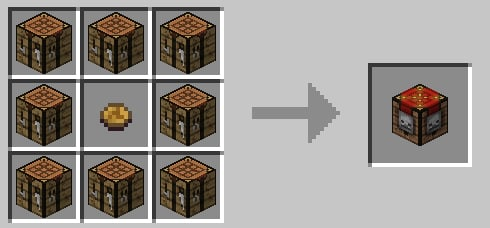 how to make half wood planks in minecraft
