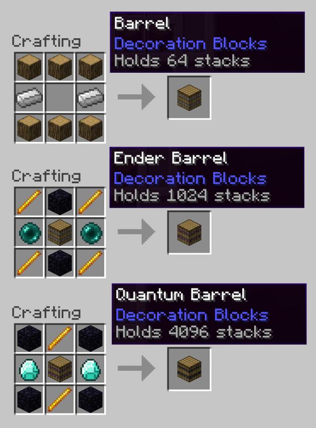 Barrels Mod