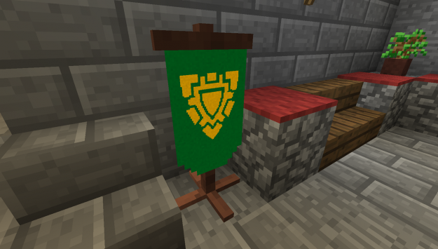how to make pretty banners in minecraft