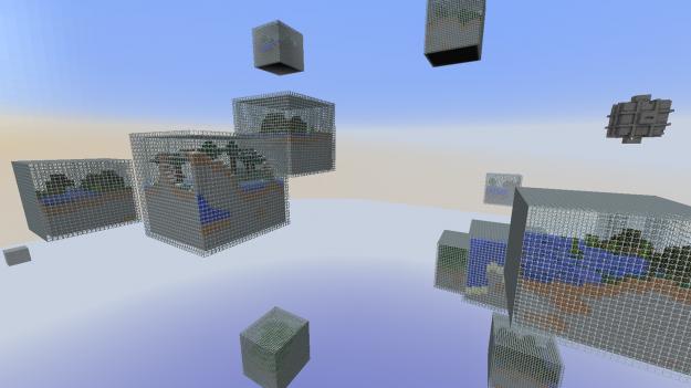 Мод Cube World для Minecraft 1.6.4/1.6.2/1.5.2 » Скачать ...