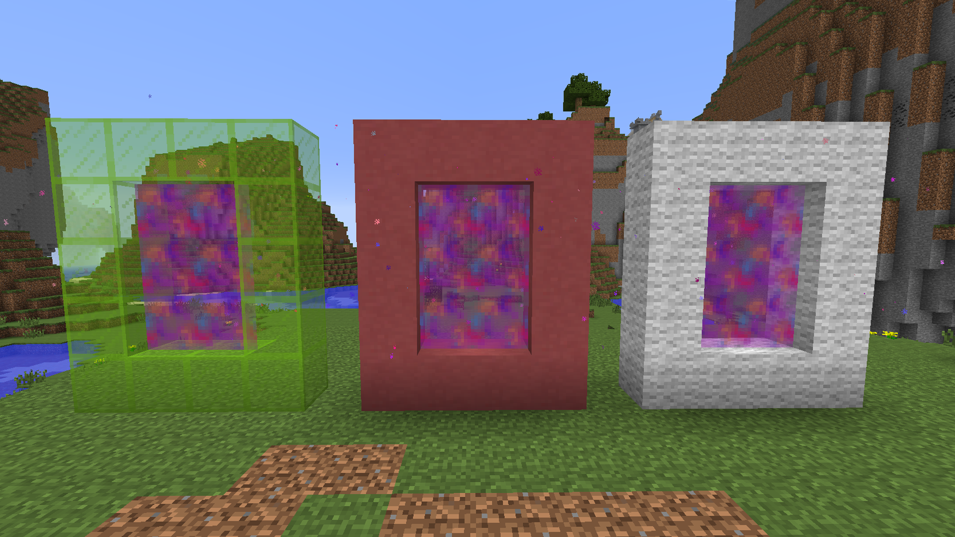 Colourful Portals Minecraft Mods - My little pony skins fur minecraft