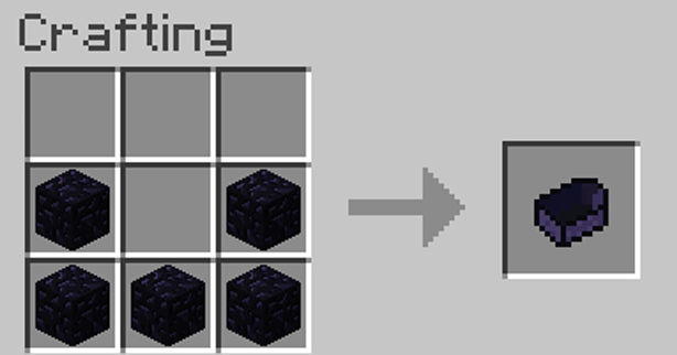 boat crafting recipe obsidian boat minecraft mods 1149