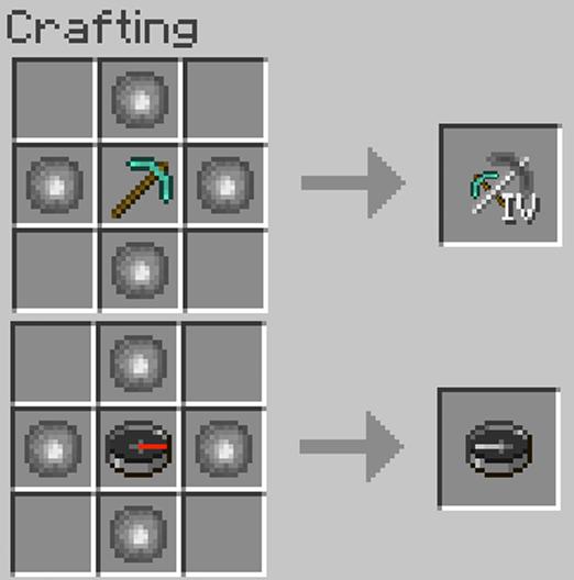 как сделать компас в майнкрафте #5