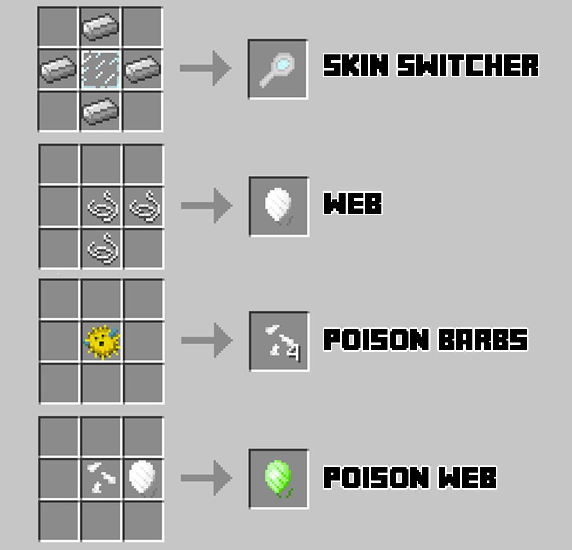 Spider Queen Reborn Minecraft Mods - Skins para minecraft pe one piece