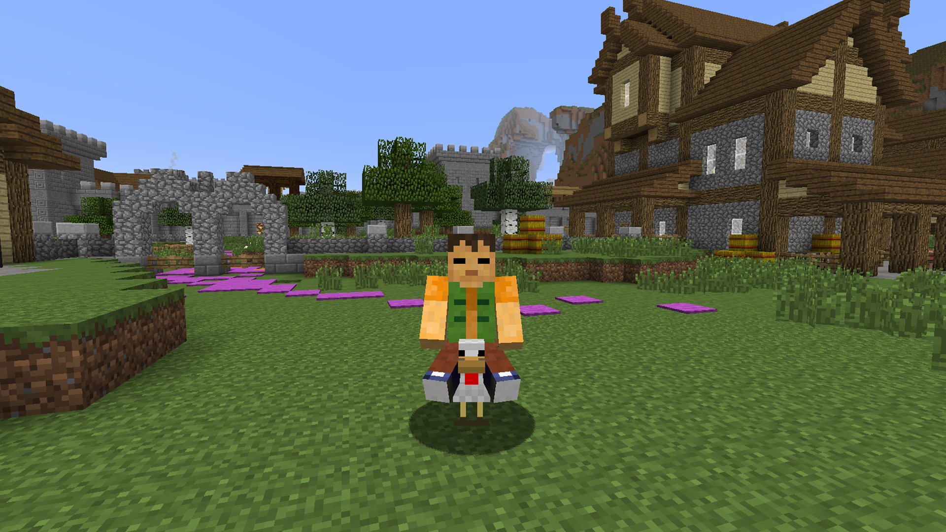 Crafted Saddle On Minecraft