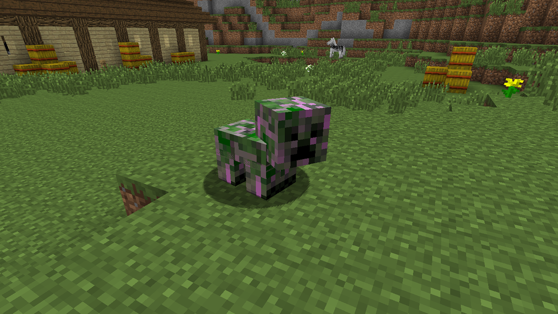 Crafting A Saddle In Minecraft Ps
