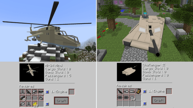 HelicopterTank