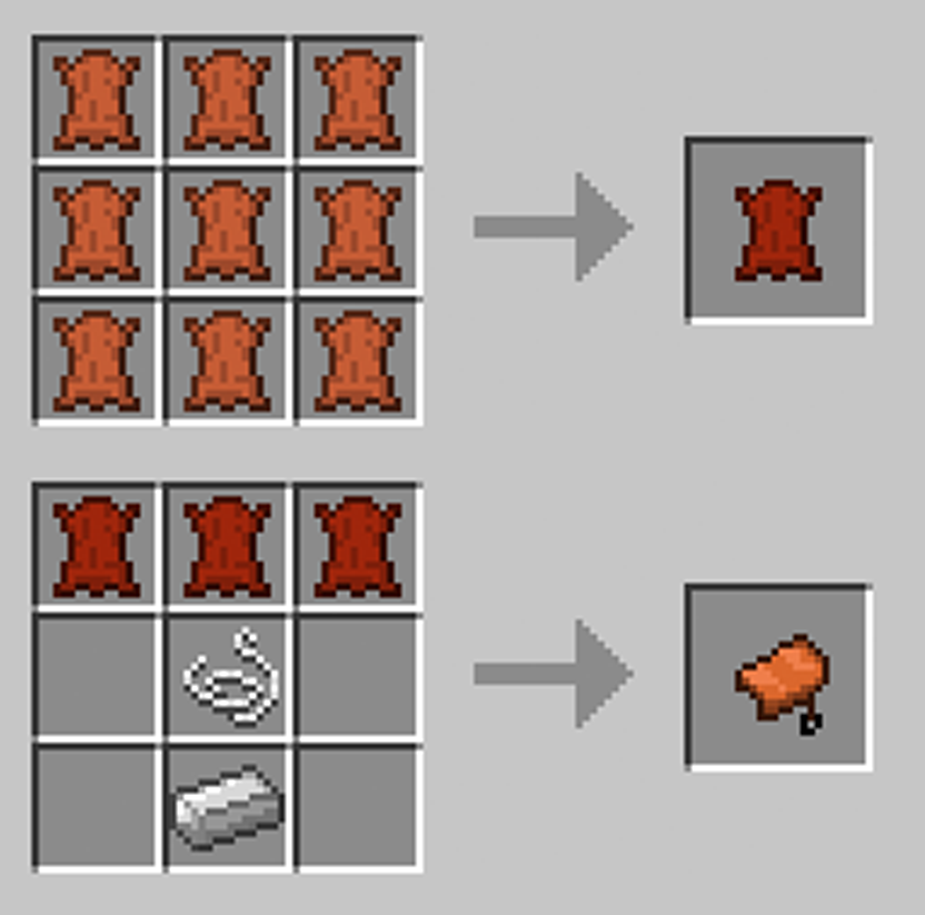 Minecraft Craft Saddle Mod