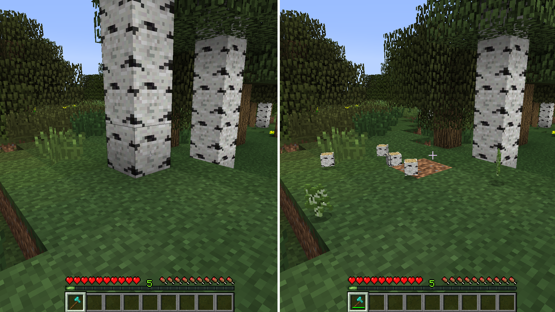 minecraft mod tree capitator