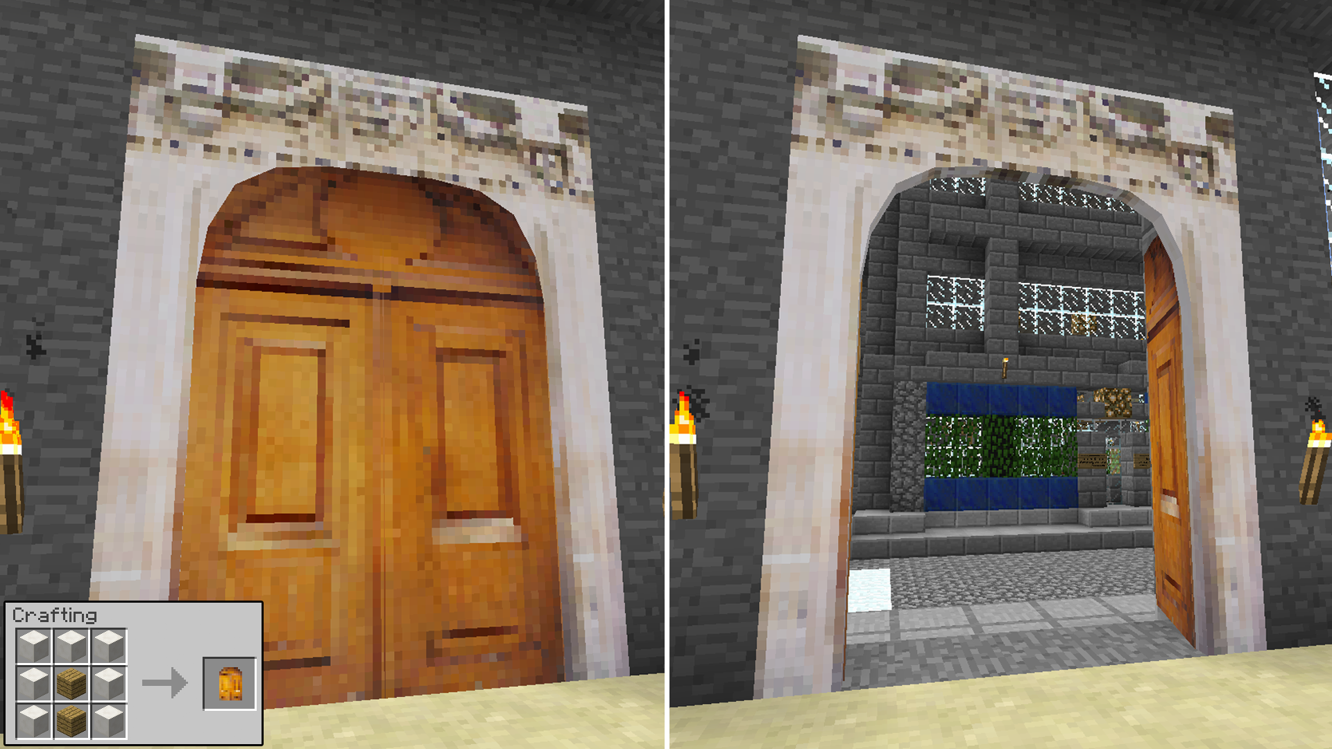 Malisis doors minecraft mods for How big is a garage door