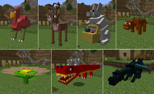 Animal Bikes Minecraft Mods