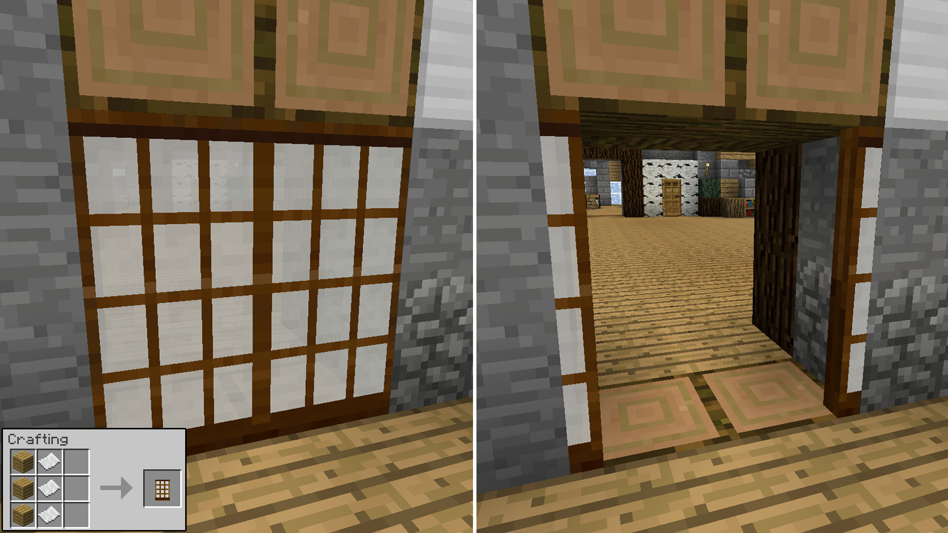 paperdoor & Malisis Doors | Minecraft Mods