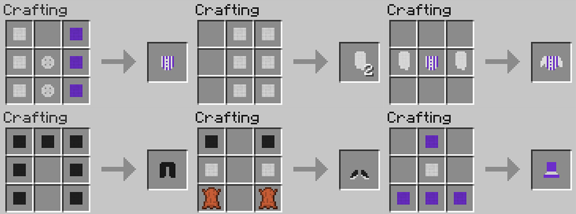 minecraft crafting 1.10.2