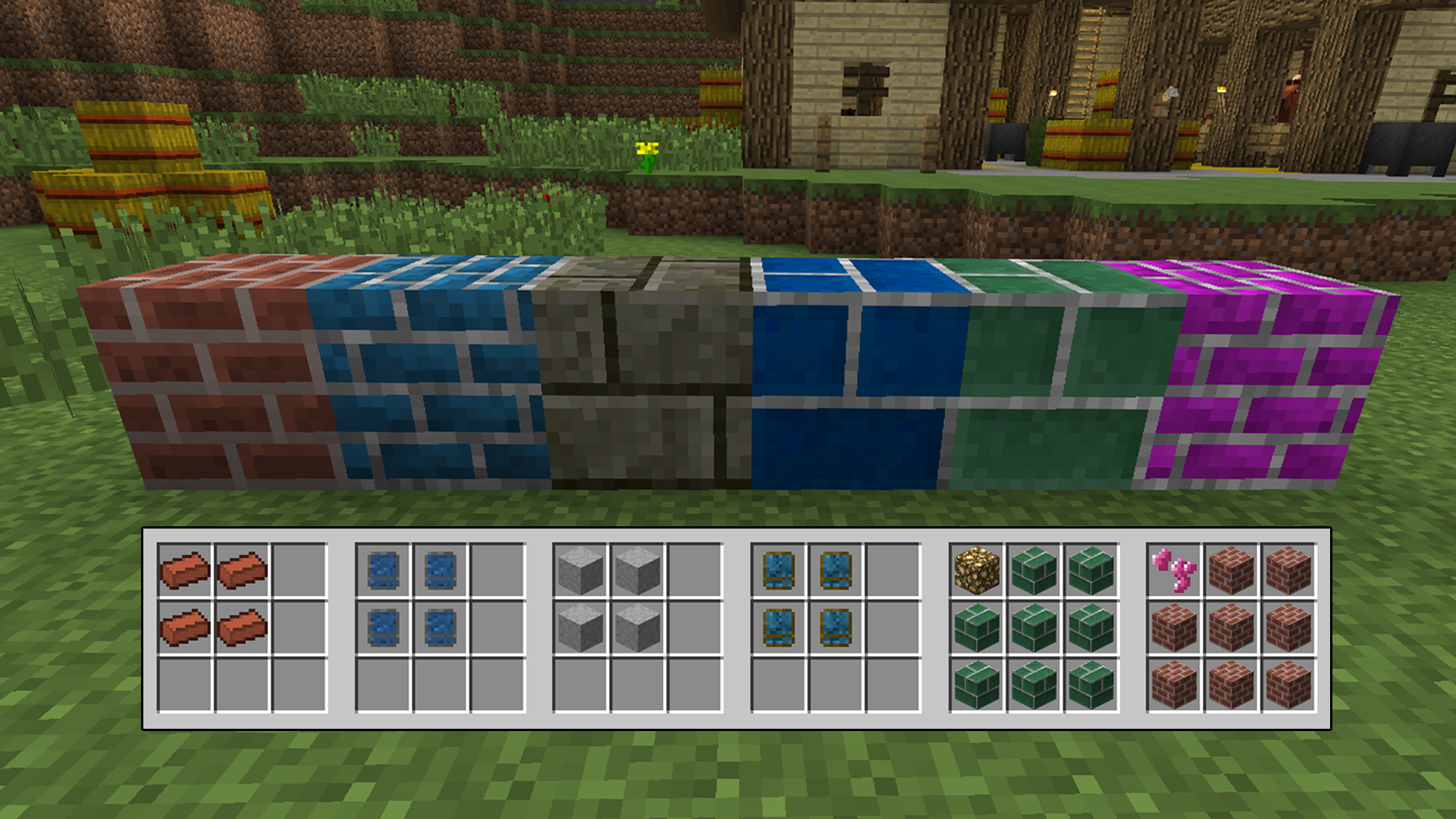 Gwycraft minecraft mods the mudbrick and standard brick blocks can also be combined with glowstone or an enchanted ore to be able to emit light sciox Image collections