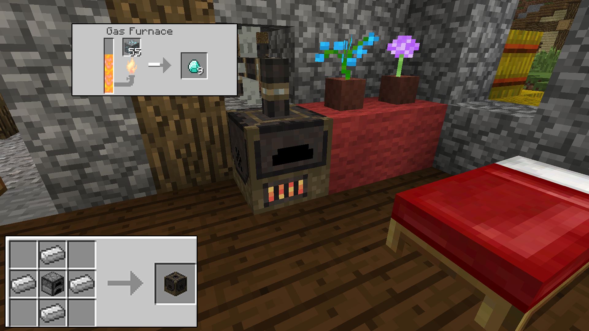 Glenn 39 s gases minecraft mods for How to craft a furnace in minecraft
