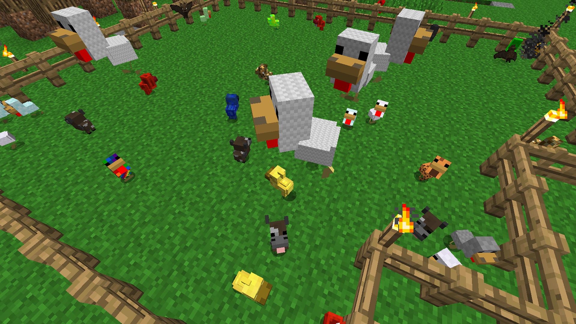 Mo Chickens Minecraft Mods