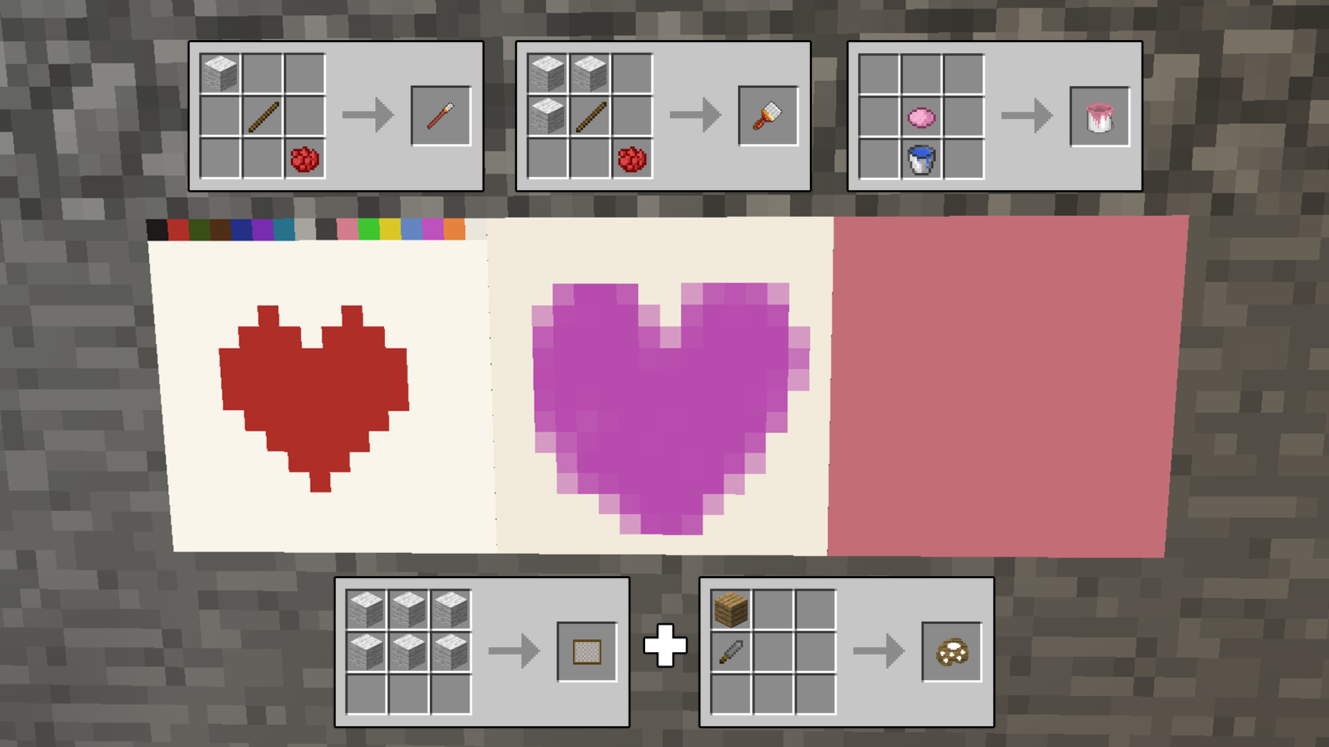 Mine painter minecraft mods for Creating a mural