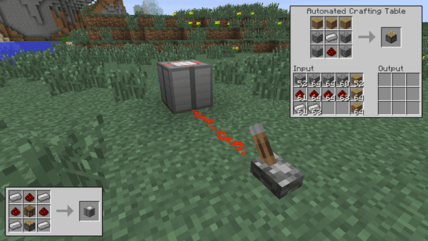 Autocrafting Table Easy Crafting