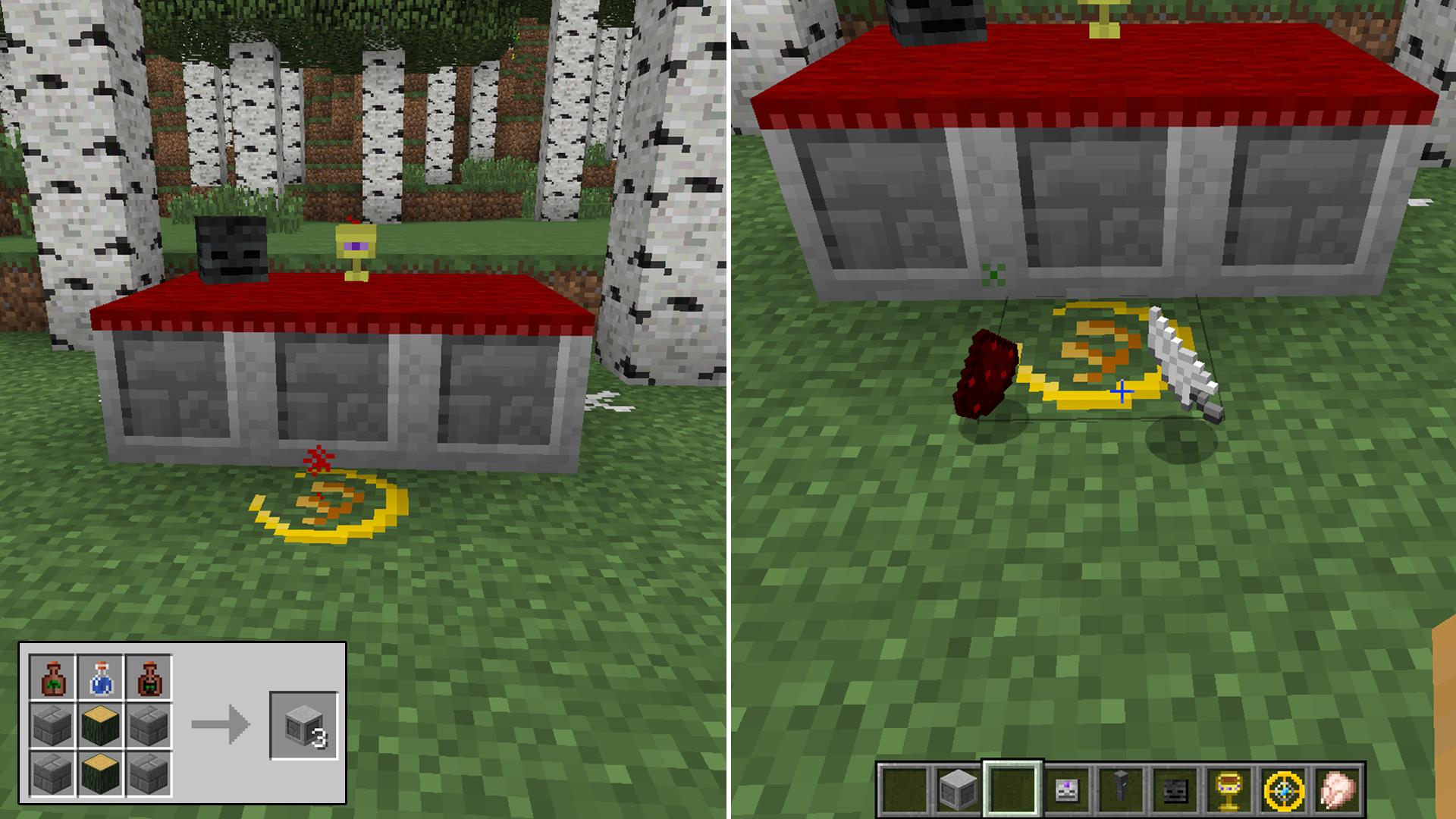 how to work armourersworkshop mod minecraft