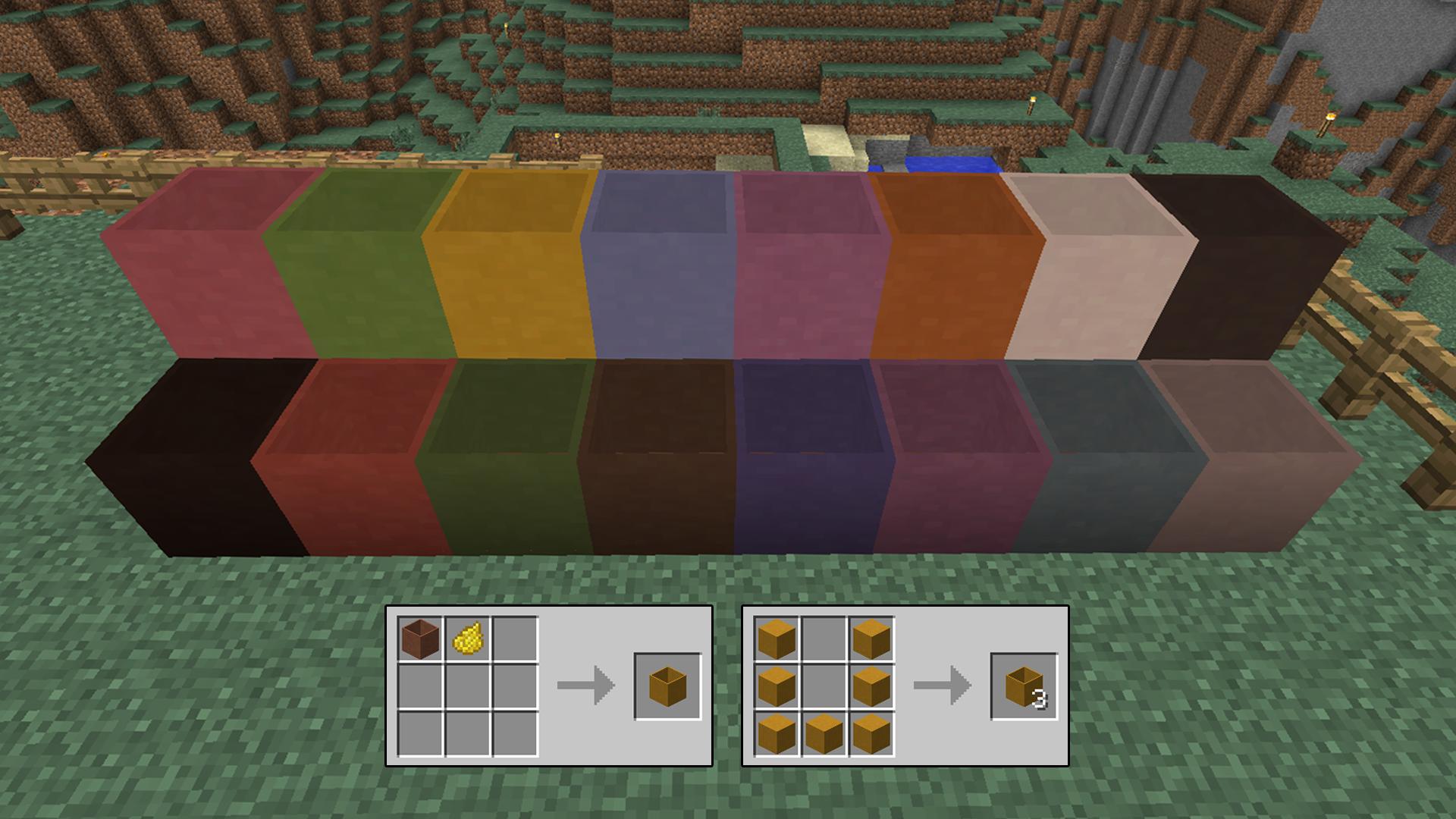 Modular flower pots minecraft mods coloredpots sciox Image collections