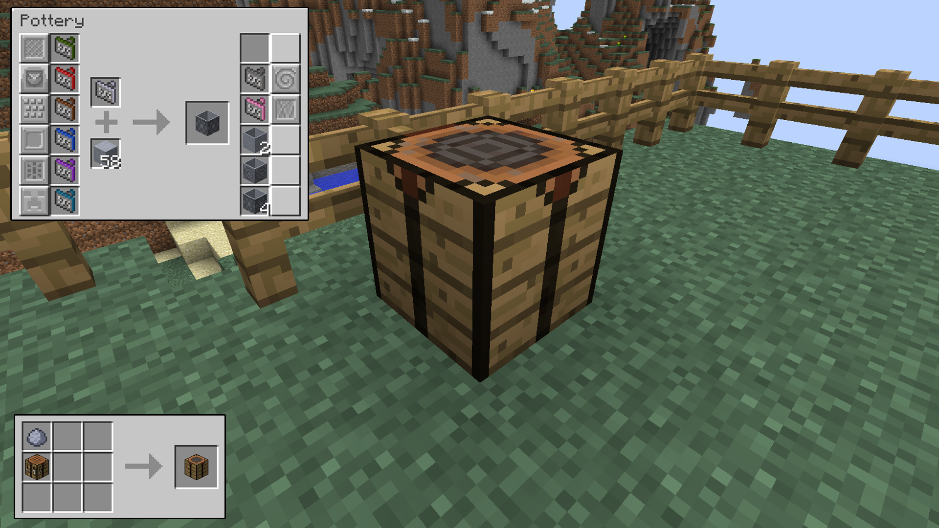 Modular Flower Pots Minecraft Mods