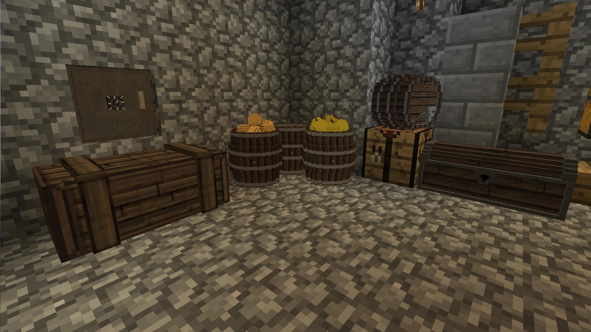 Cool Storage Room Minecraft