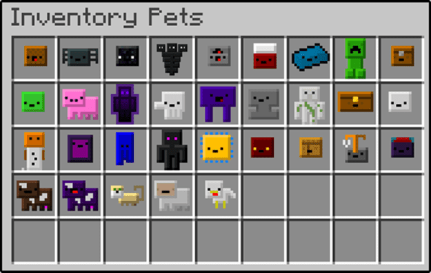 Inventory Pets (1.16.4) | Minecraft Mods