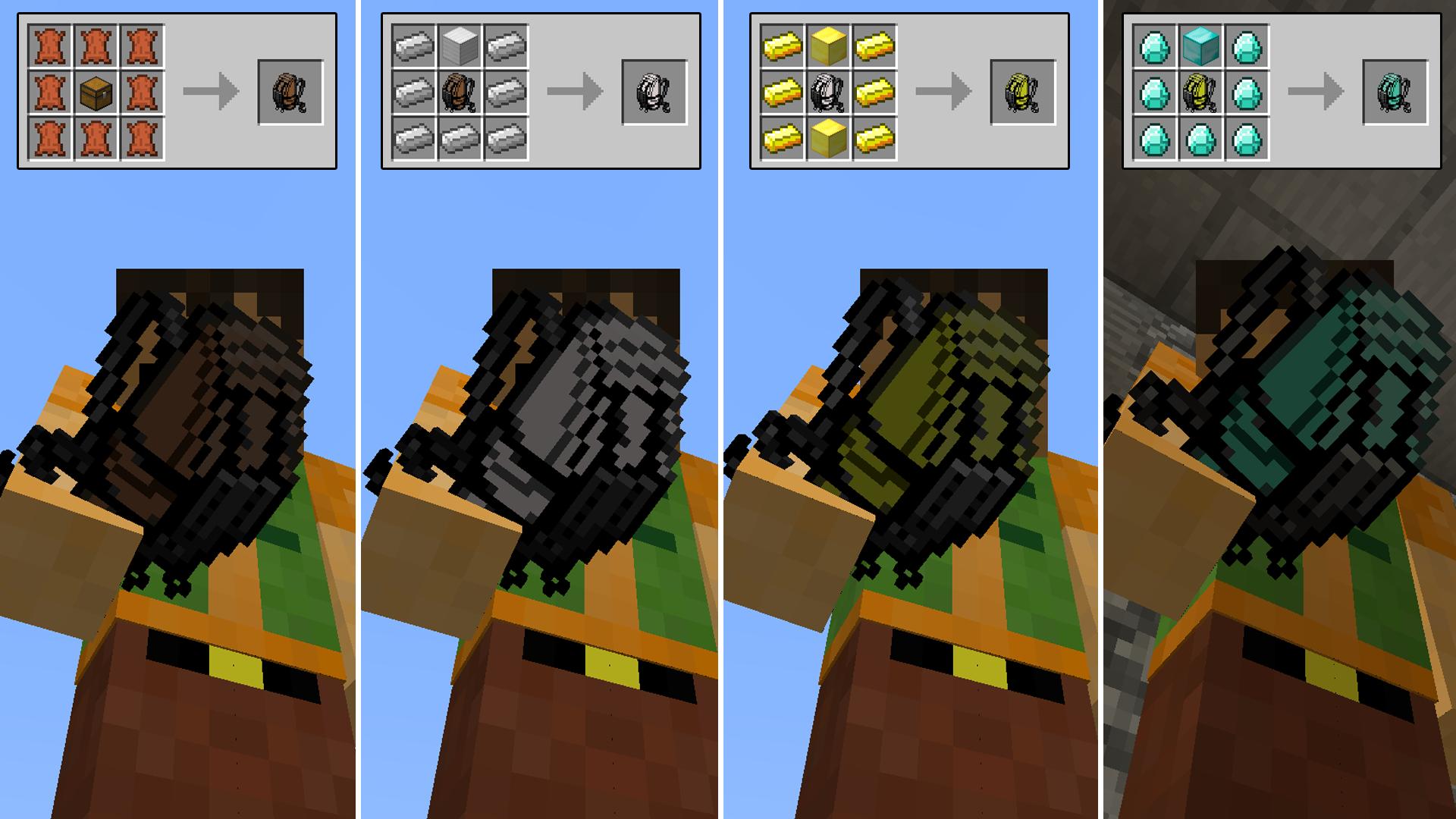 Backpacks mod 1. 8/1. 7. 10/1. 7. 2/1. 6. 4 (by brad16840).