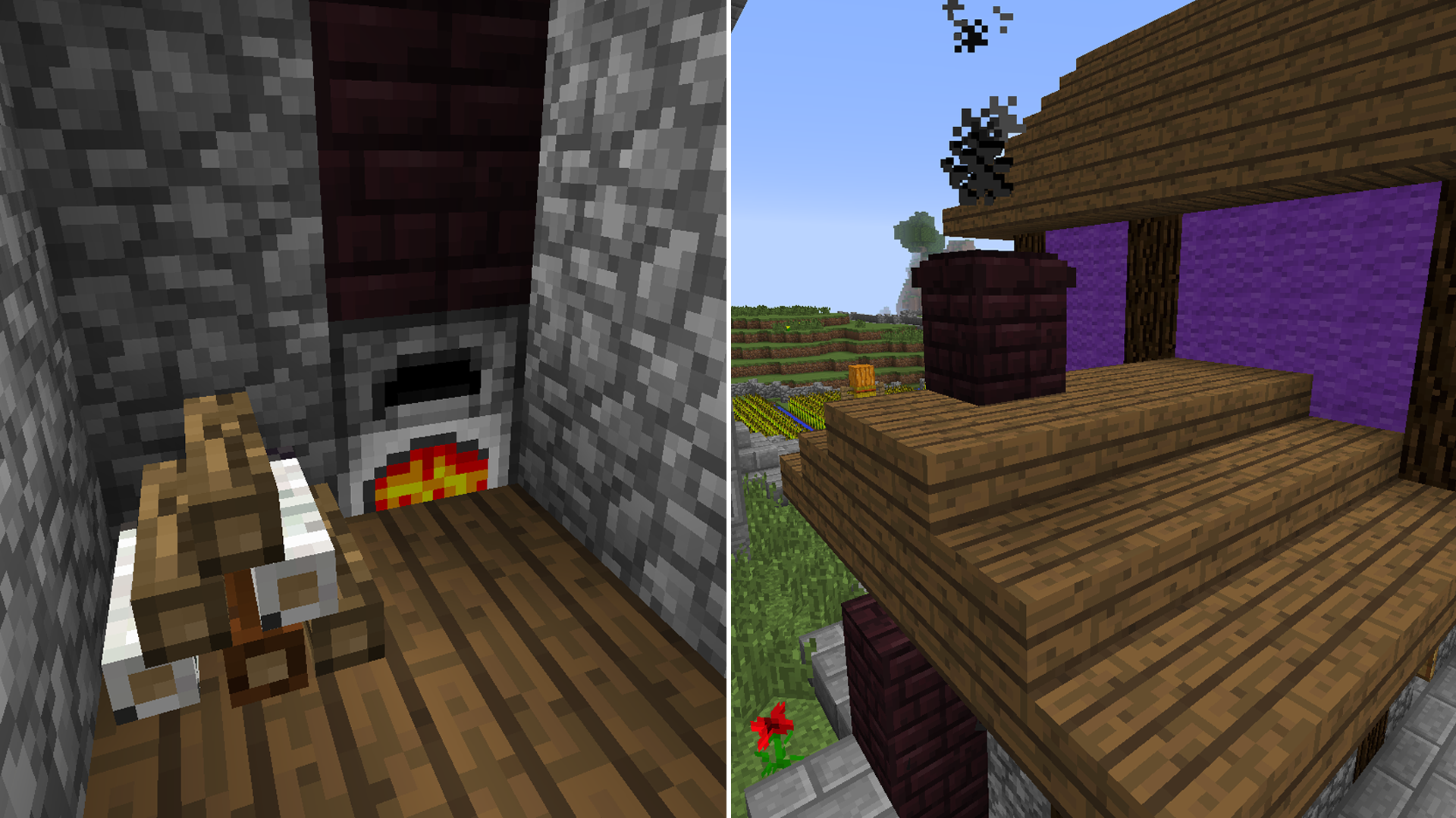 Decorative Marble And Decorative Chimneys Minecraft Mods