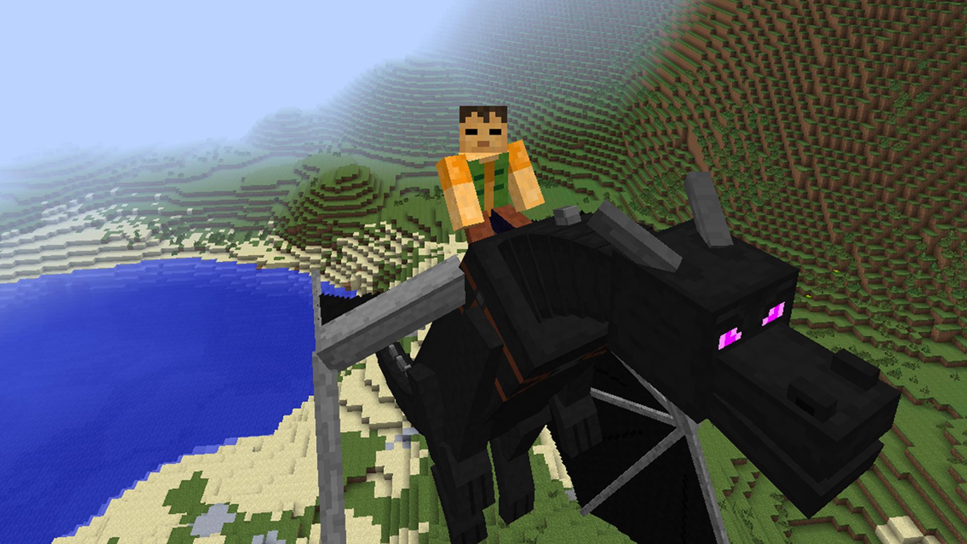 Dragon Mounts Minecraft Mods - Minecraft lan spielen mit mods