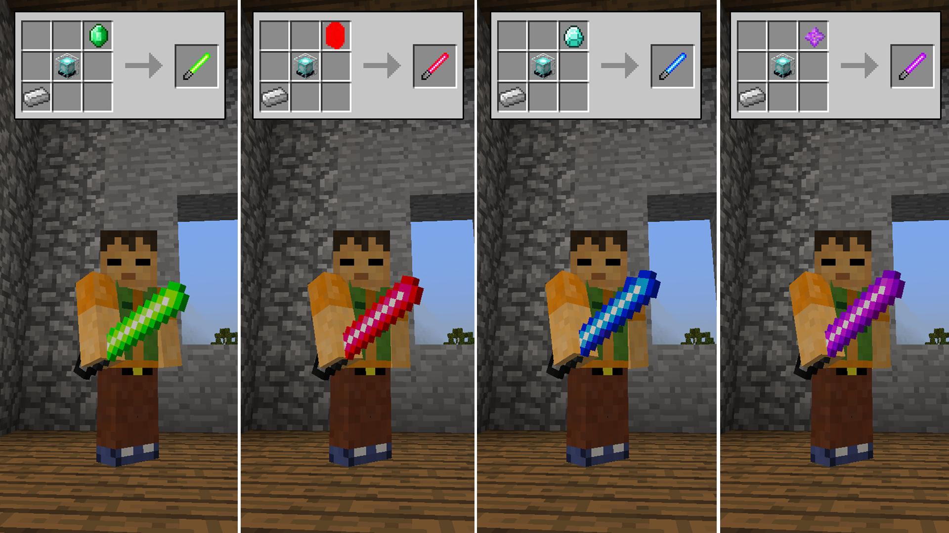Monoblocks Minecraft Mods
