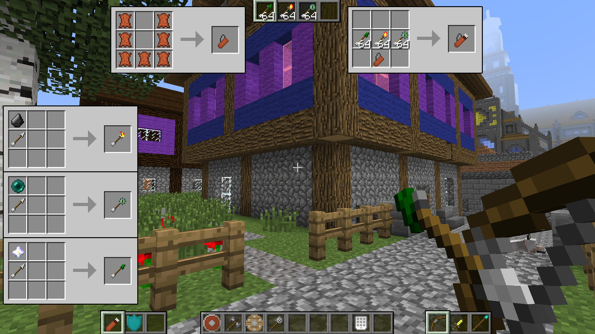 How To Craft A Quiver In Minecraft