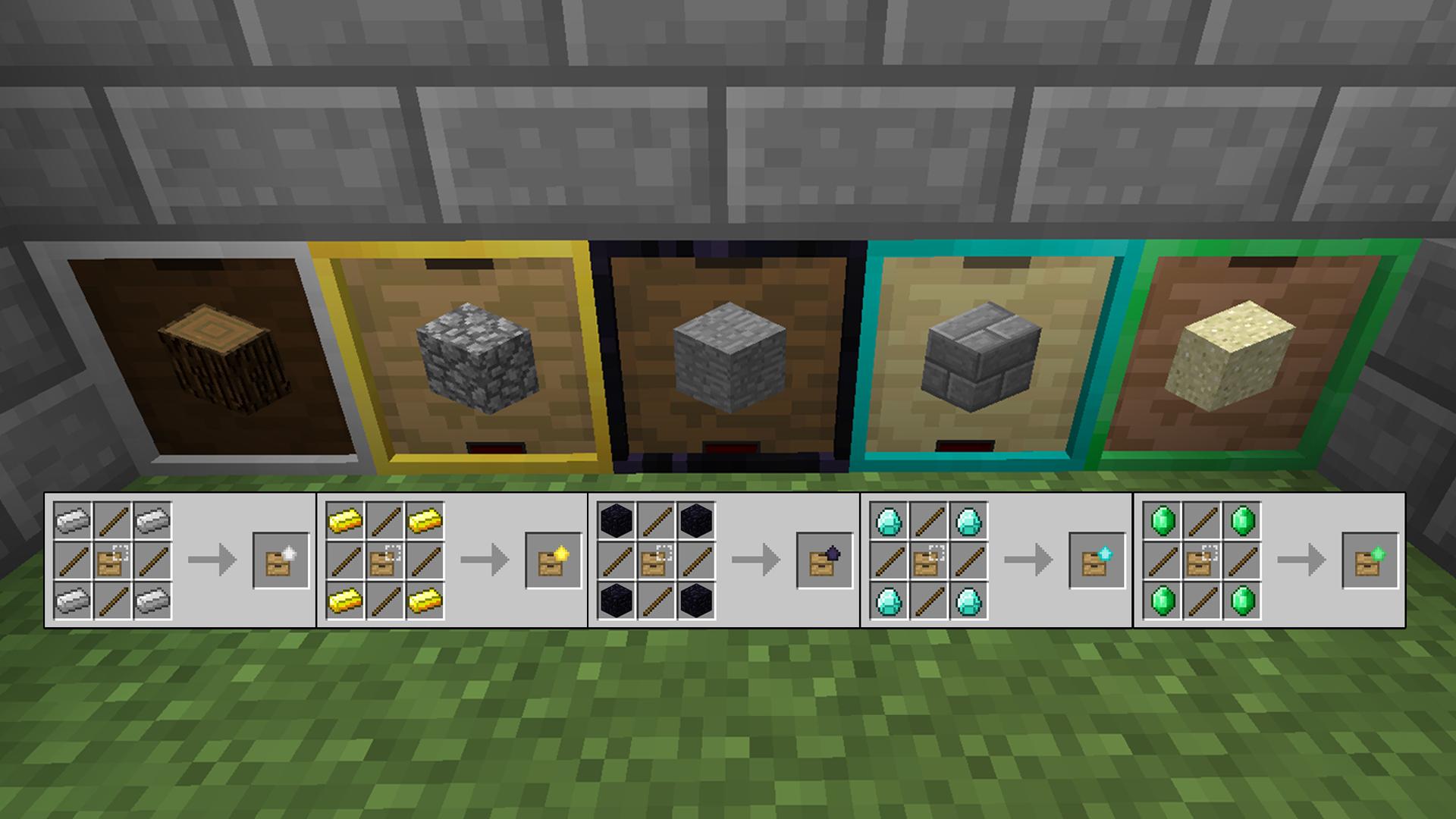 Crafting Storage Minecraft
