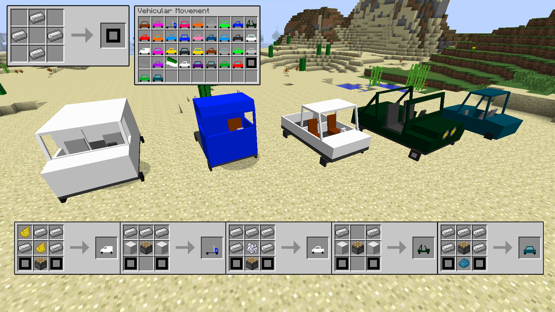 How To Build A Car On Minecraft Xbox One