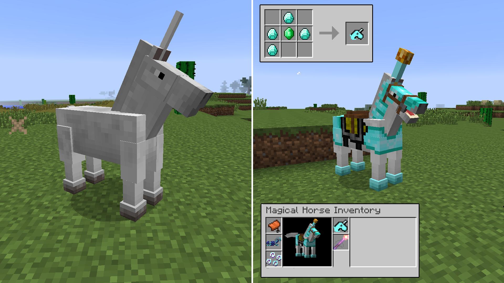 The Ultimate Unicorn Mod Minecraft Mods - Skin para minecraft pe de unicornio