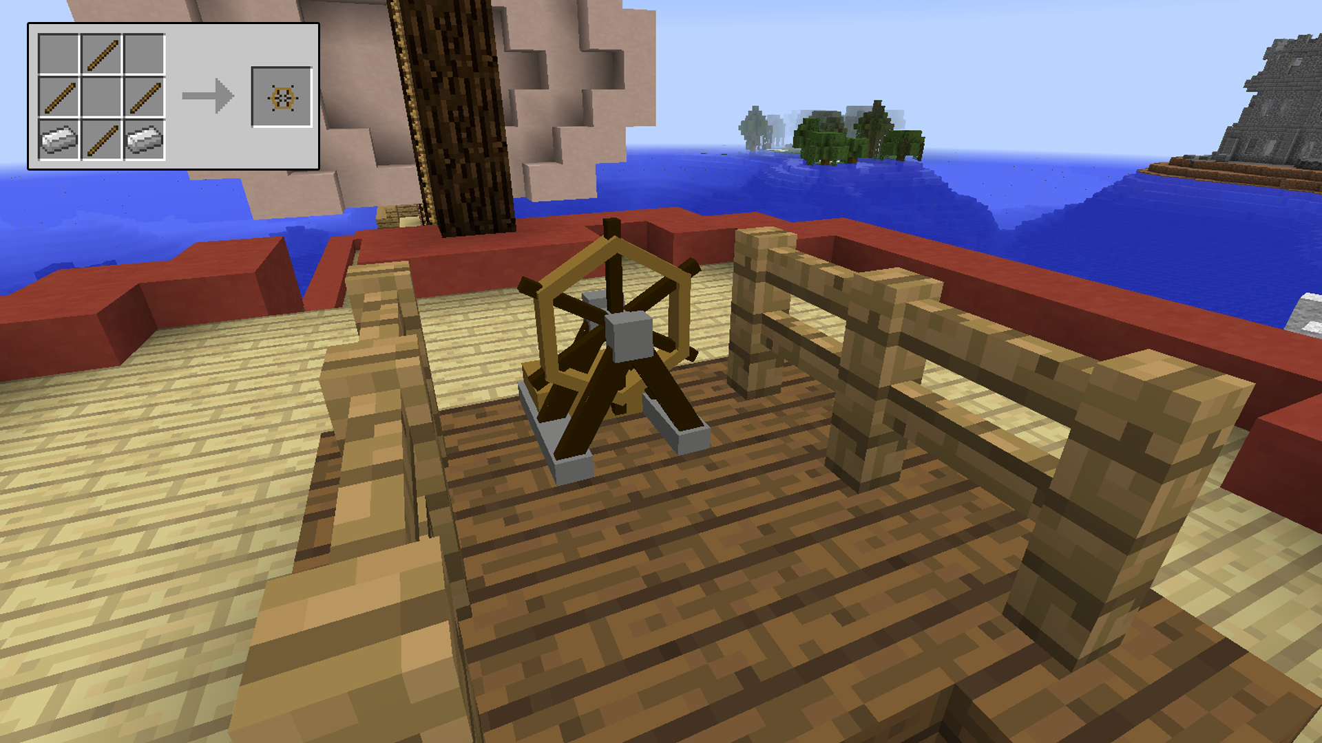 Minecraft Boat Crafting